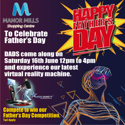 Celebrate Father's Day with us